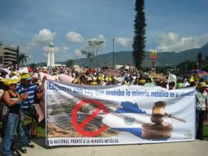 anti-mining march