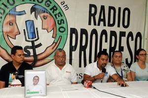 radio progreso press conference carlos mejia