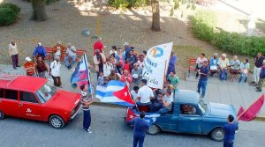 ON Dec 17, 2014 Cubans celebrate the return of the Cuban Five