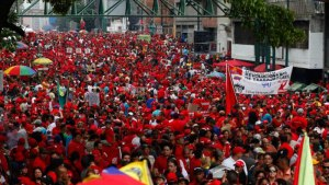 On Monday Dec 15, Venezuelans march to reject US Intervention.