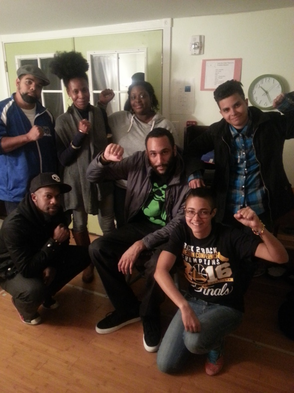 In Oakland we met with a political education group focusing on liberation movements across the Americas. We also attended the Black Panther Party's 50th Anniversary celebrations.