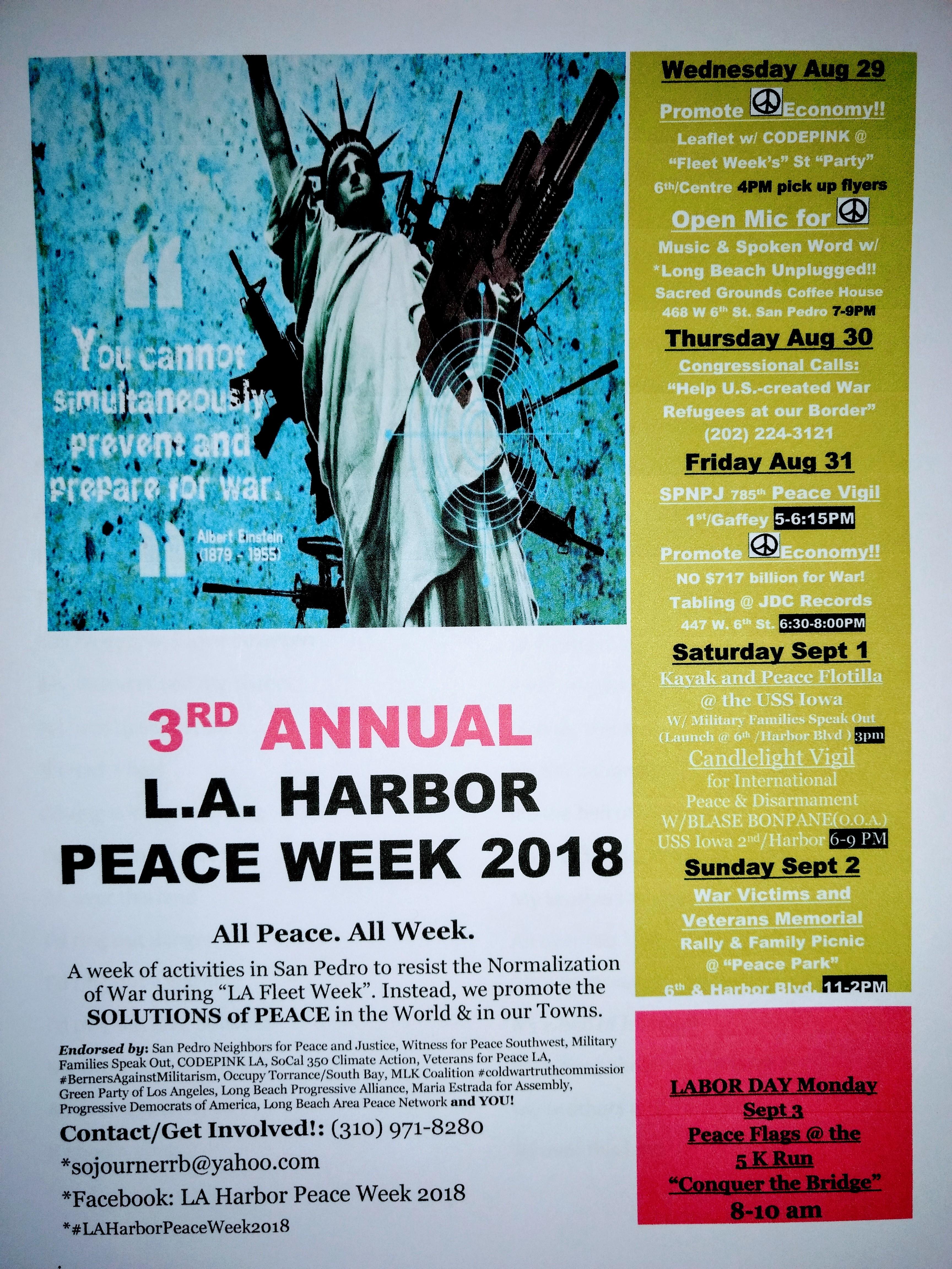 Peace Week 2018 Big