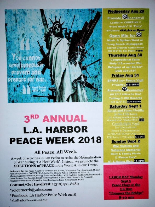 Peace Week 2018 Big